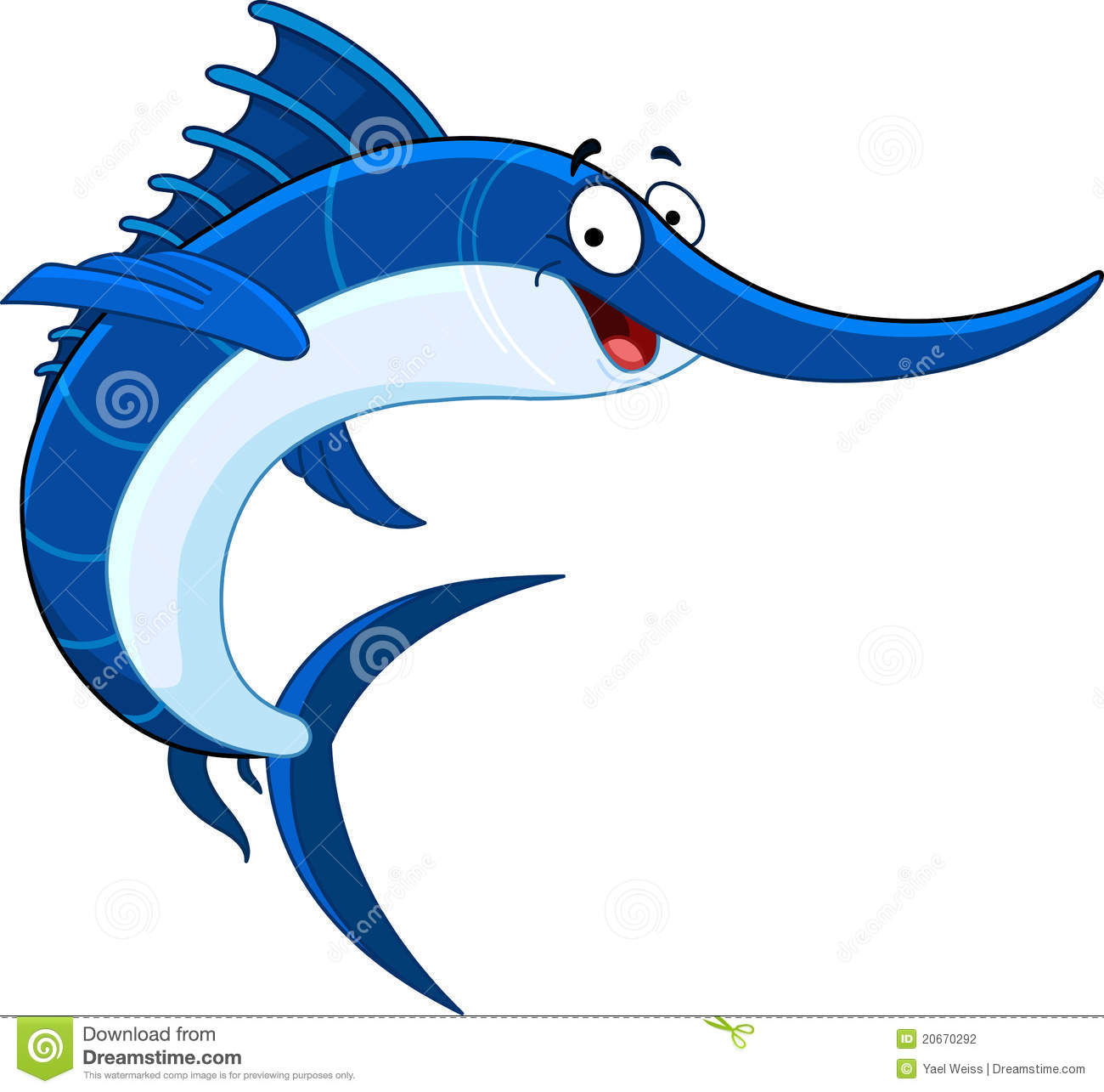 Swordfish Stock Illustrations.