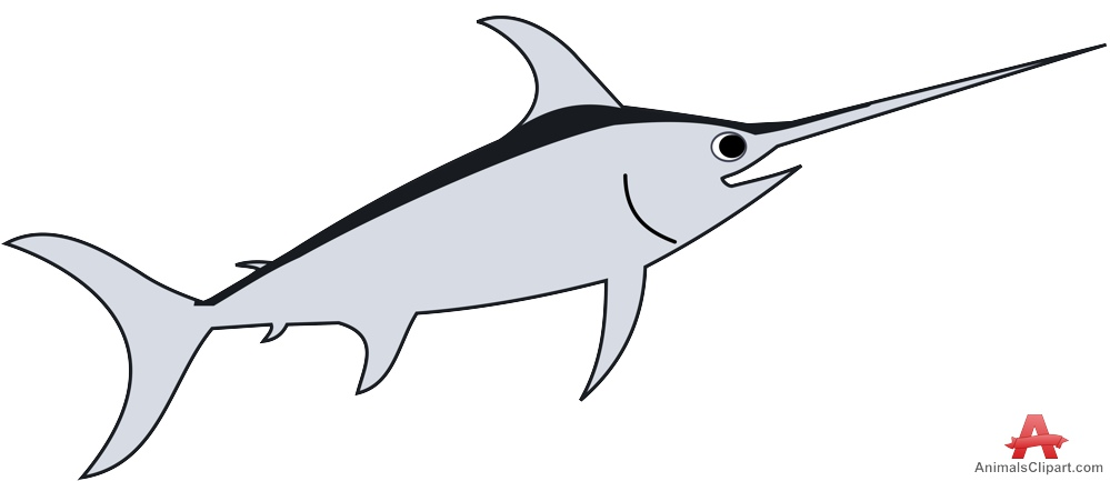 Cartoon Swordfish.