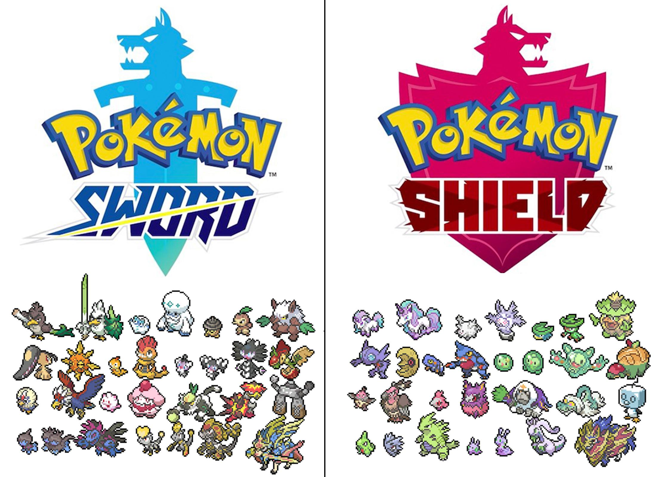 Pokémon Sword and Shield exclusives : SwShLeaks.