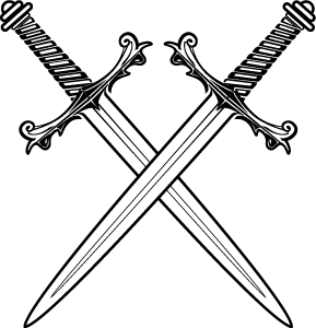 Sword PNG Black And White Transparent Sword Black And White.