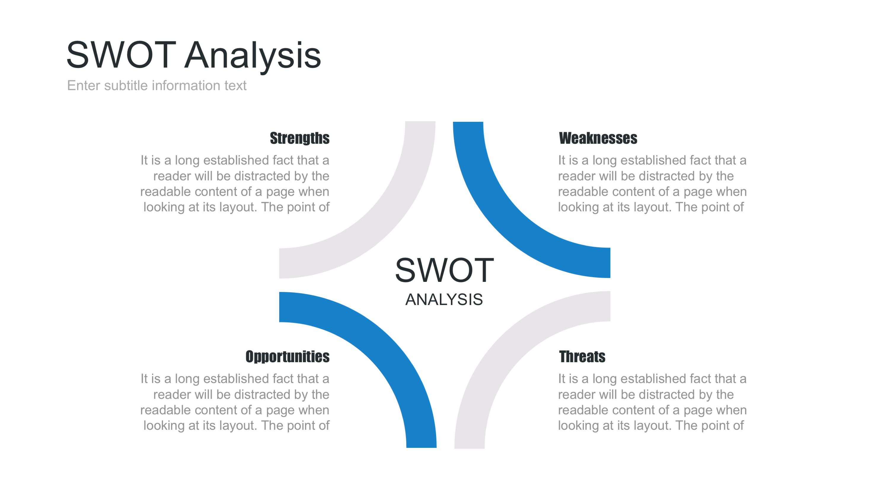 Swot Analysis Keynote Template.