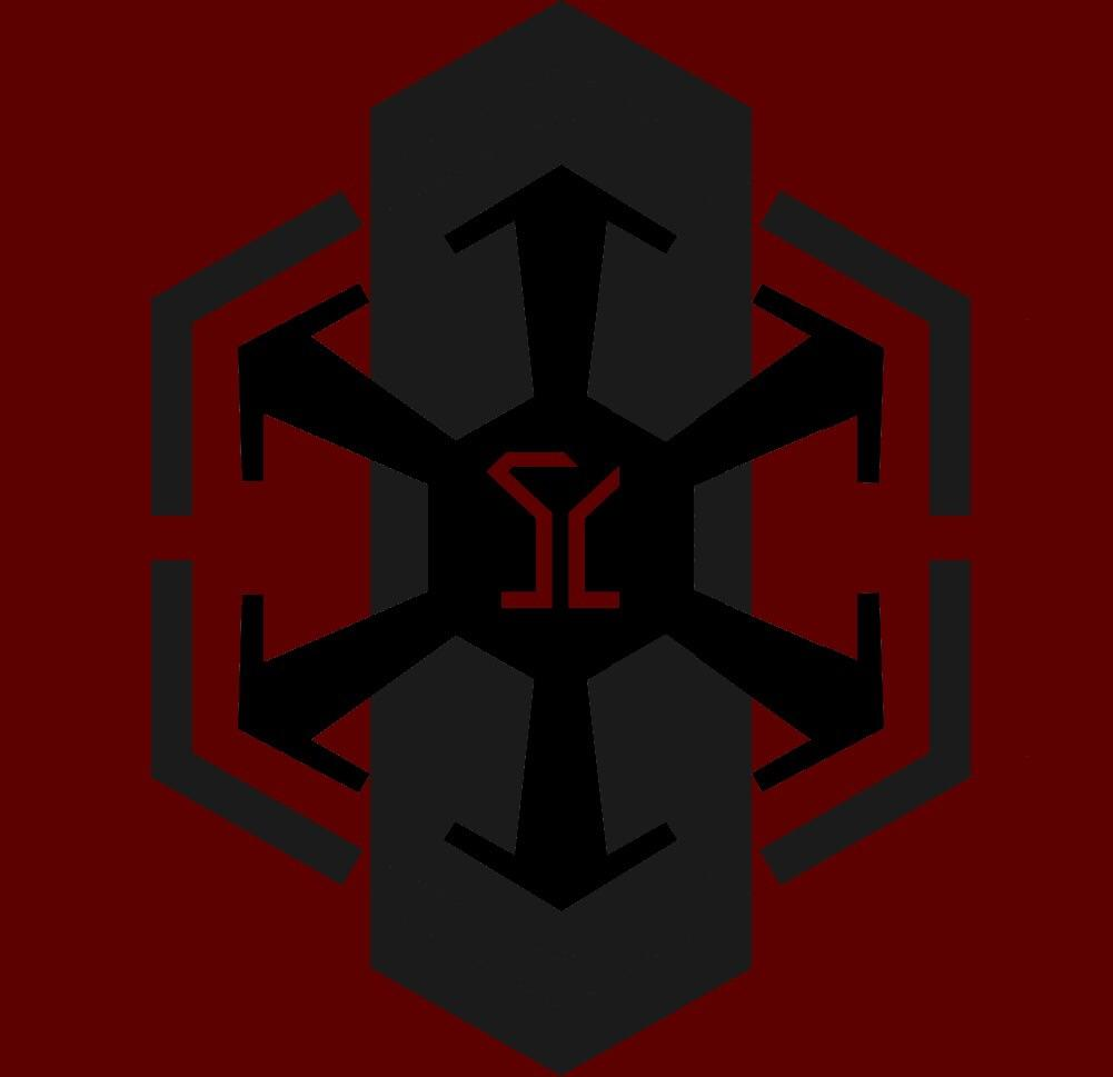 "Our ""imperial only"" guild logo. The symbol in the center is."