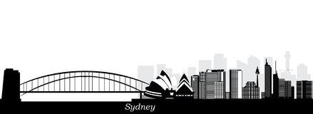 Sydney Harbour Bridge Stock Illustrations.