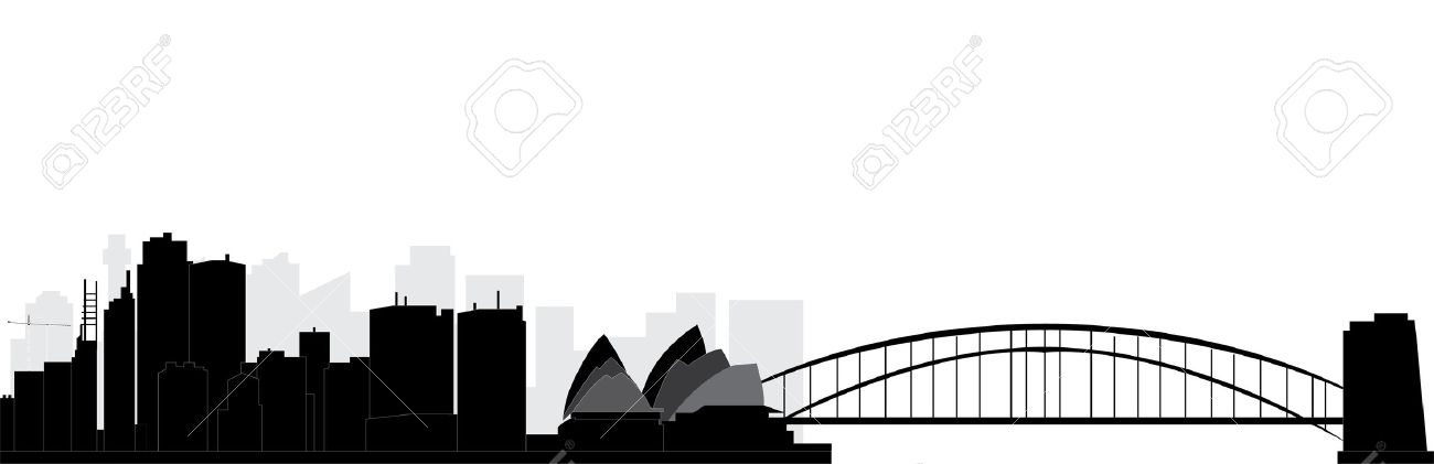 576 Sydney Skyline Stock Illustrations, Cliparts And Royalty Free.