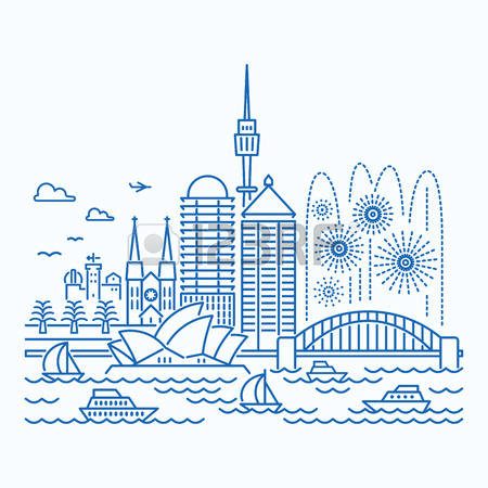 544 Sydney Tower Stock Vector Illustration And Royalty Free Sydney.