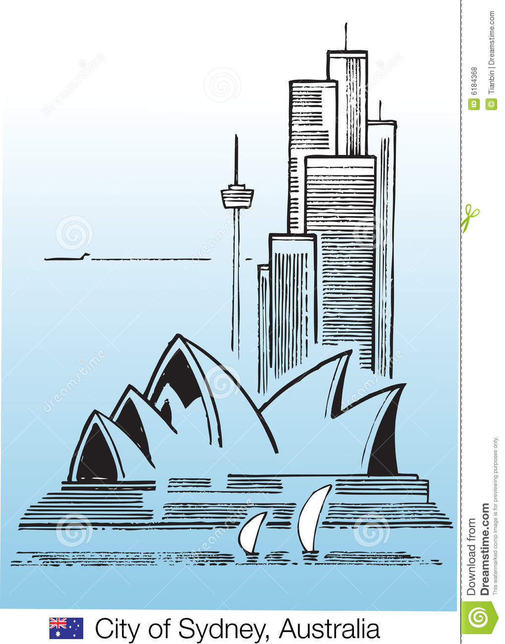 City Of Sydney Editorial Stock Photo.