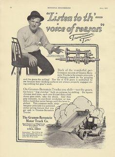 1920 Gramm Bernstein Truck Sales Brochure.