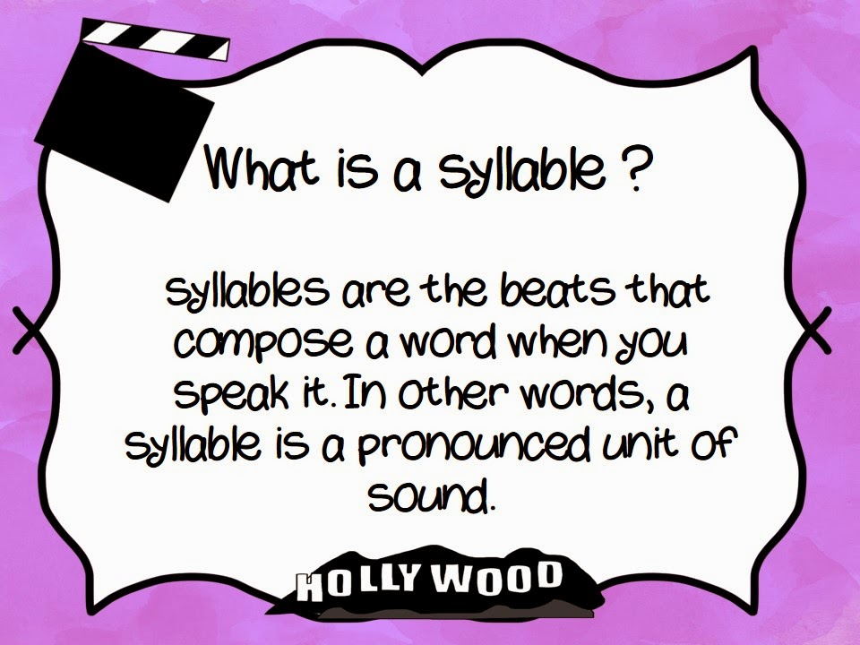 Syllable Style:Closed Syllable Words.