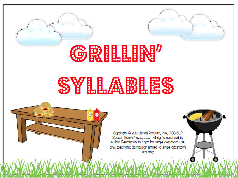 Grillin' Syllables {with giveaway}.