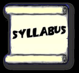 Syllabus clipart.