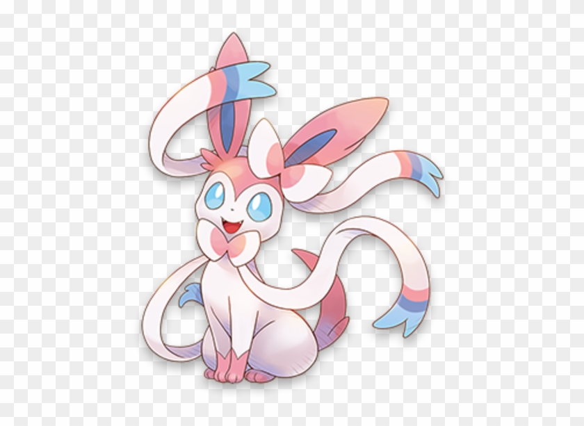 Sylveon Psmd Artwork.