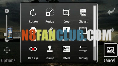 Steps to Fix Photo and Video Editor on Hacked Symbian Anna.