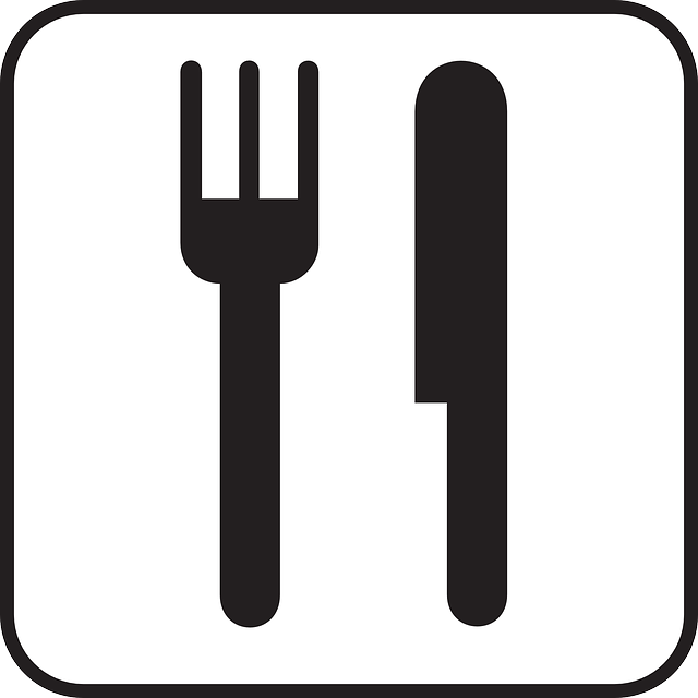Free vector graphic: Food, Dishes, Fork, Knife, Eat.