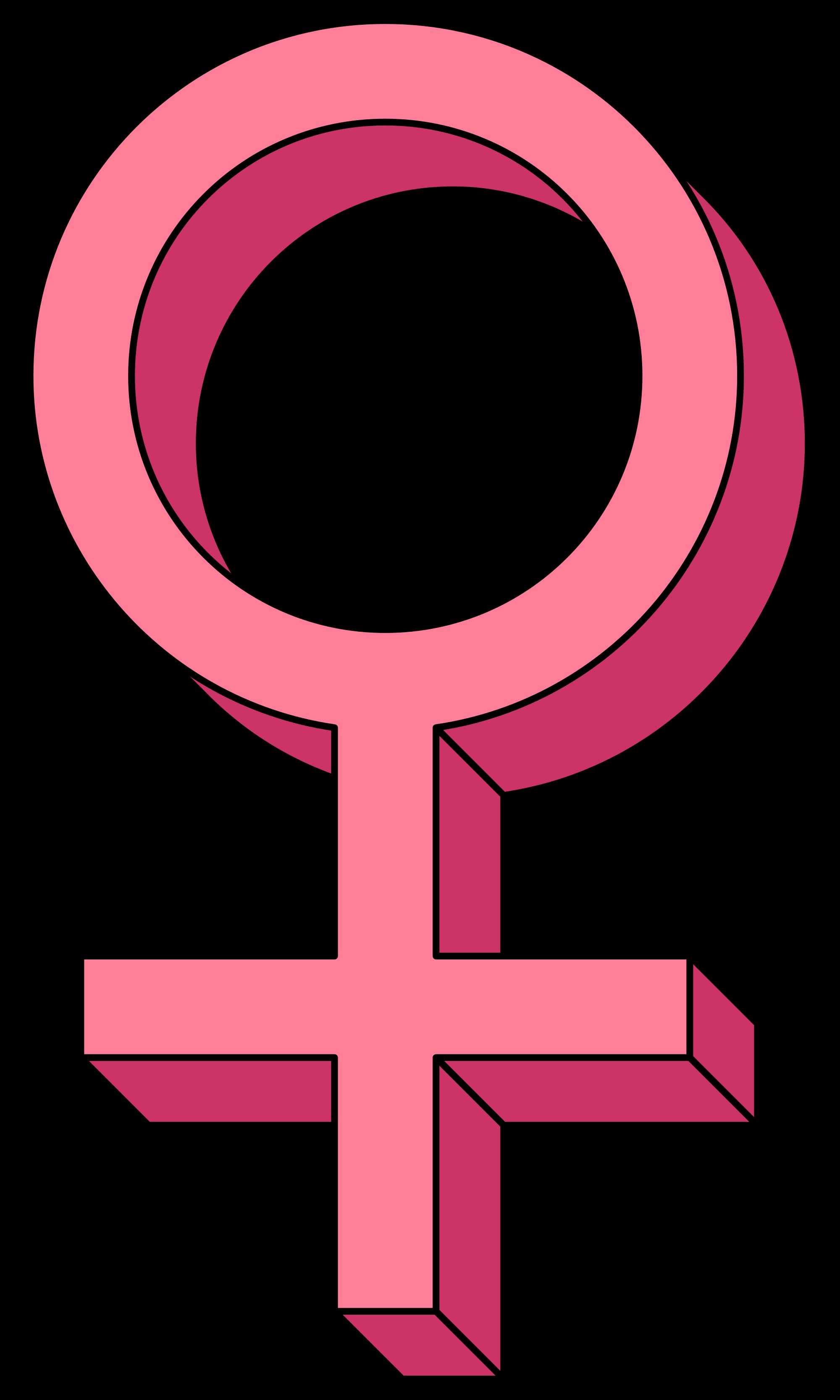 Women Symbol Clipart.