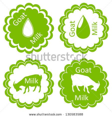 Goat Milk Stock Images, Royalty.