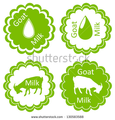 Goat Milk Stock Images, Royalty.