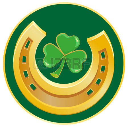 A Symbol Of Good Luck Stock Vector Illustration And Royalty Free A.