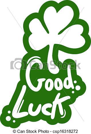 Vectors Illustration of Good luck.