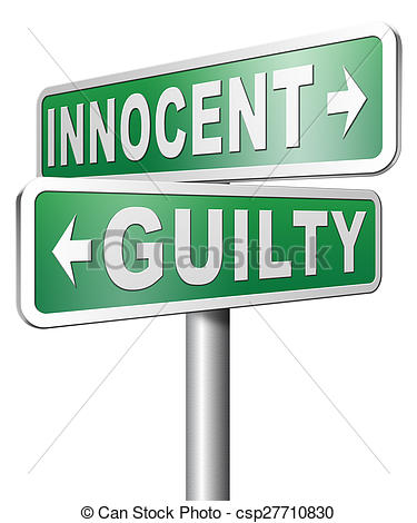 Stock Photos of innocent or guilty presumption of innocence until.