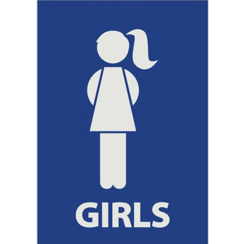 Male Bathroom Symbol.