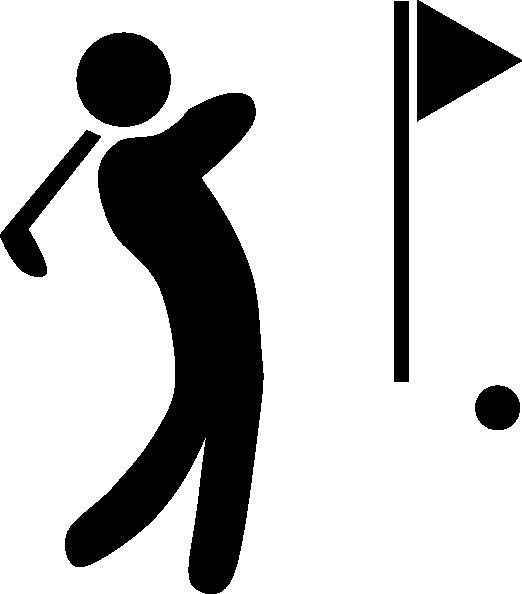 Golf Symbols Clipart.