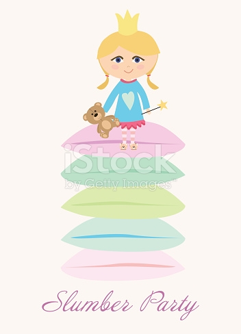 Clipart Symbolizing A Slumber Party stock vector art 472373497.