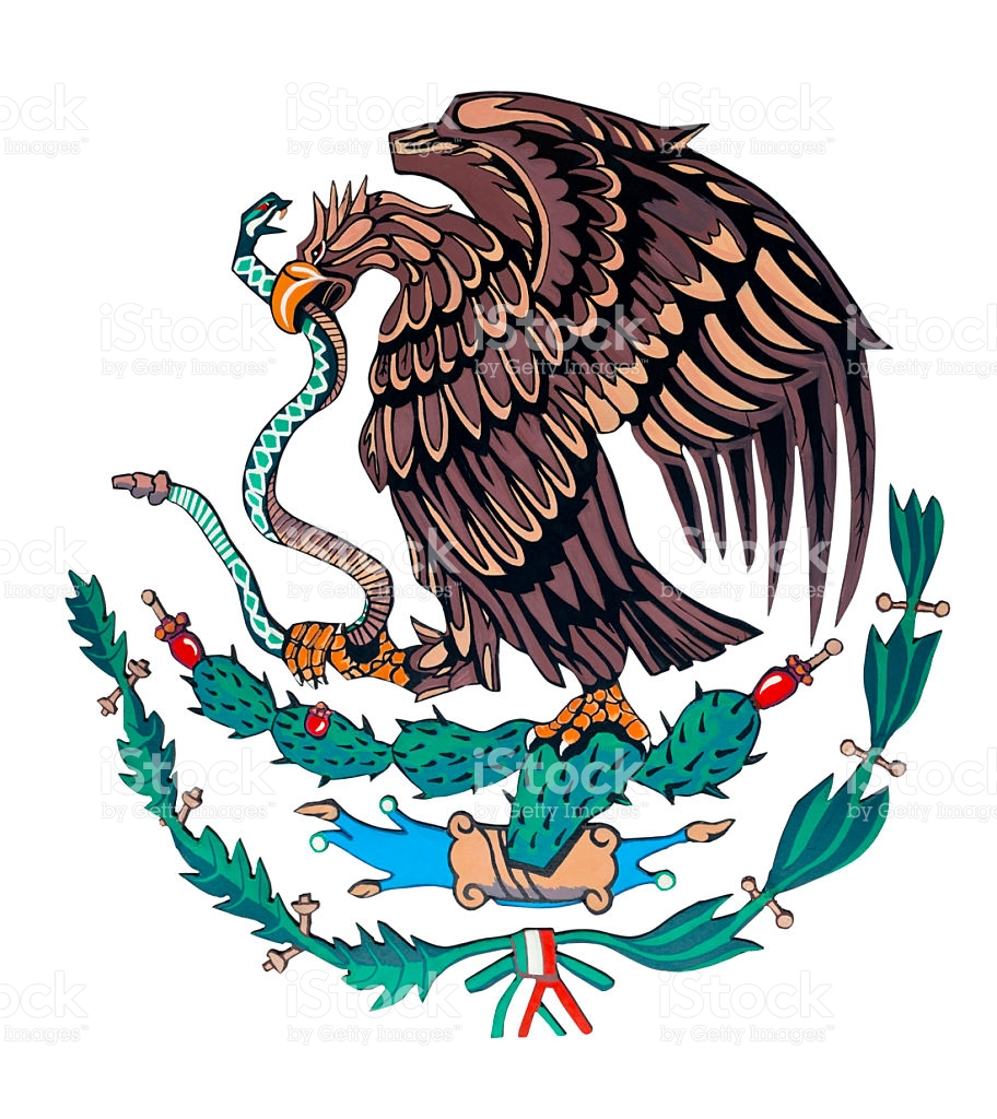 Showing post & media for Mexican flag bird symbol.