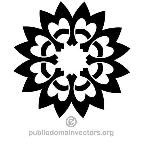 3789 free geometric design clip art.