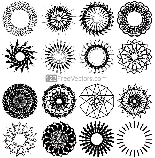 Free Clip Art Geometric Designs.