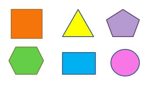 Clipart symmetrical shapes.
