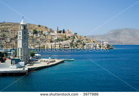 Symi Island Stock Photos, Royalty.