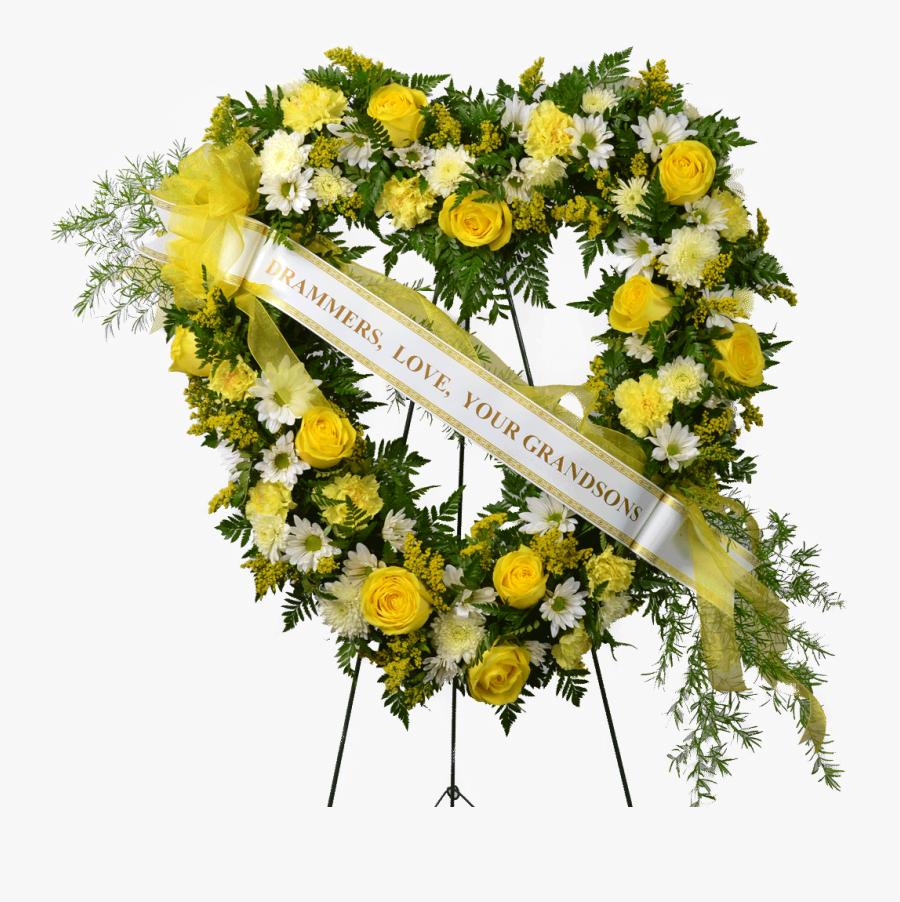 Clip Art Sympathy Flowers Funeral Flower.