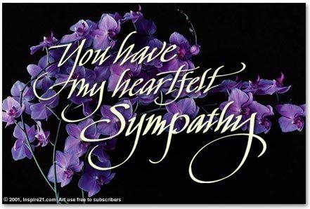 Sympathy Flowers Clip Art.