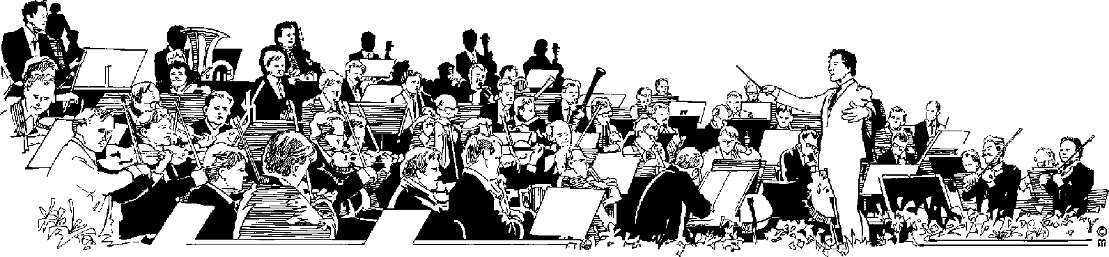 Symphony Orchestra Clipart.