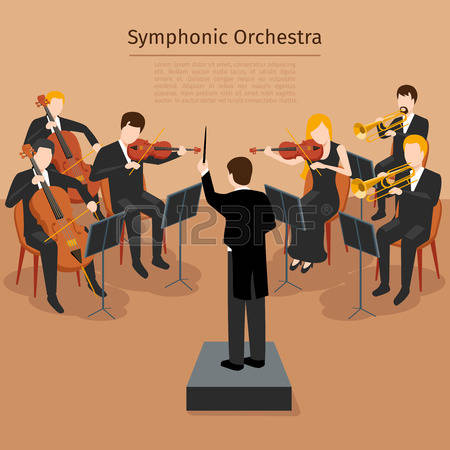 21,644 Orchestra Stock Vector Illustration And Royalty Free.