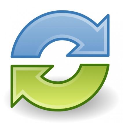Synchronize Clip Art Download.