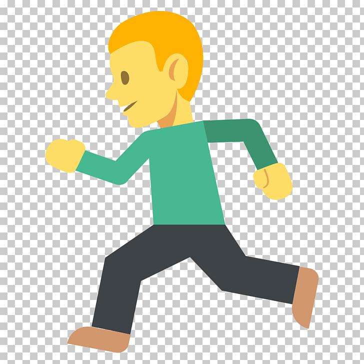 Emoji Meaning Running Word Synonym, Emoji PNG clipart.