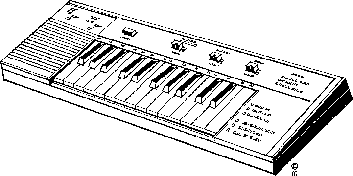 Synth clipart.