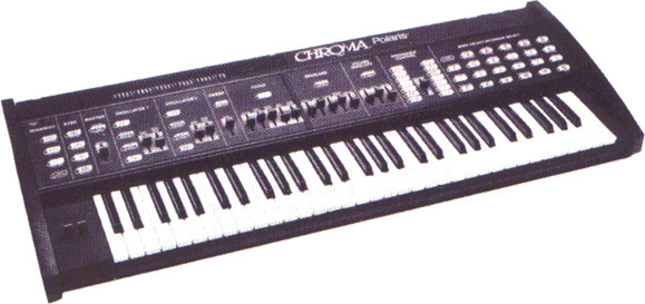 Rhodes Chroma · Vintage Synthesizers.