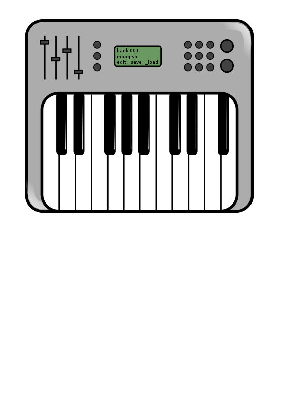 Free Clipart: Synth.