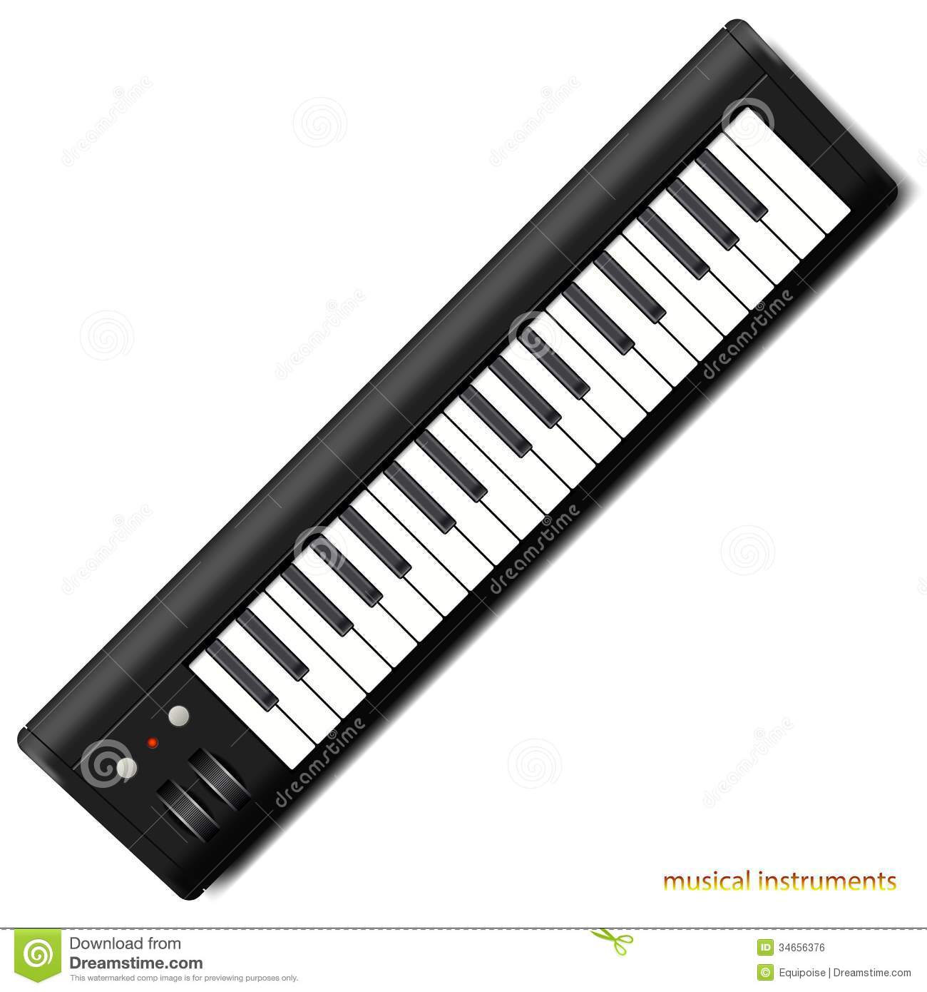 Synthesizer Royalty Free Stock Image.
