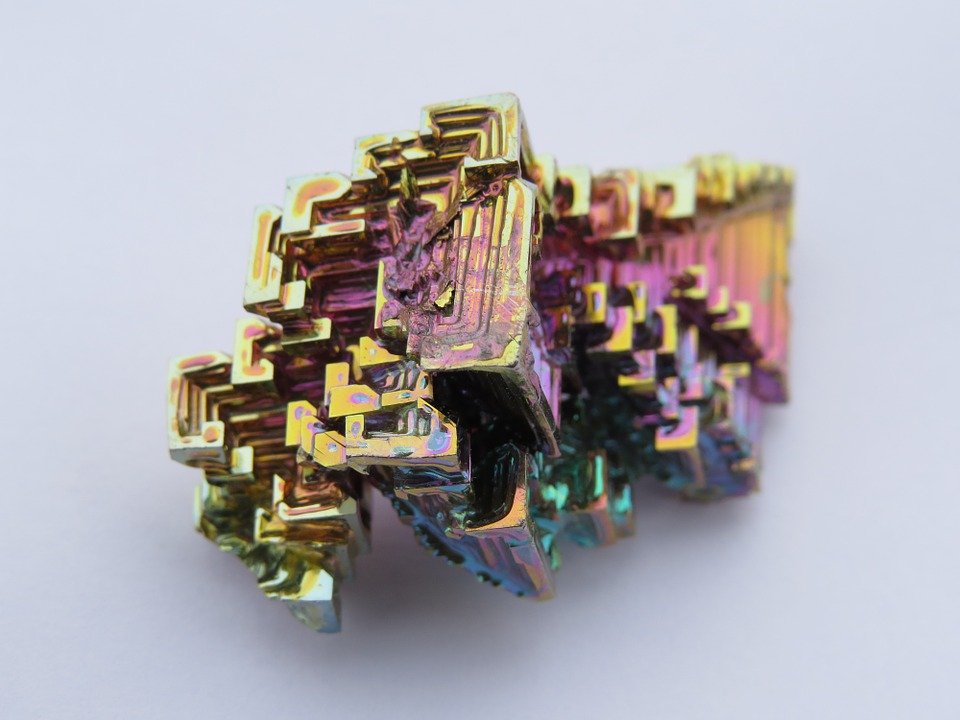 Free photo: Crystal, Mineral, Iridescent.