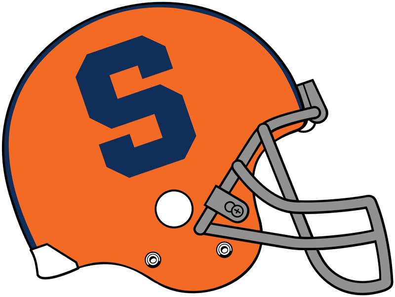 Syracuse Orange Helmet.