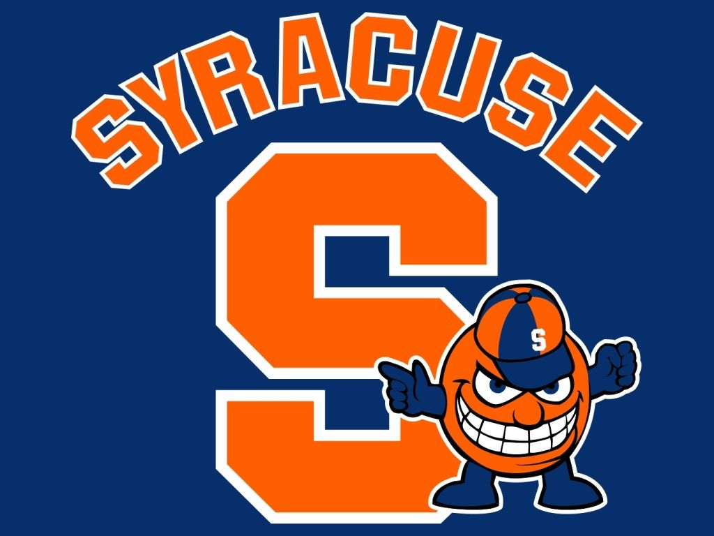 Syracuse University Oranges Mascot Monday Logo.