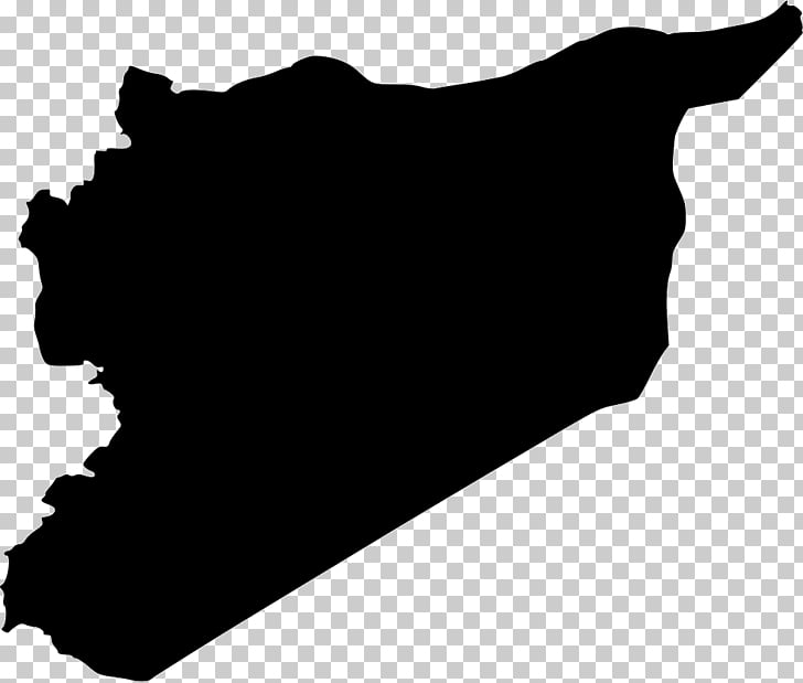 Syrian civil war Map Flag of Syria, map PNG clipart.