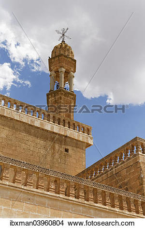 "Stock Photo of ""Syriac Orthodox Church, Midyat, Mardin Province."