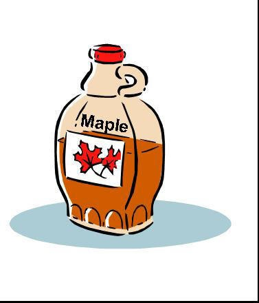 Maple Syrup Clipart.