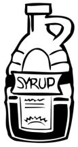 Syrup clipart #5