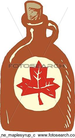 Clipart of maple syrup rr_ne_maplesyrup_c.
