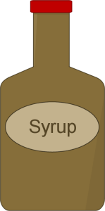 Syrup Clip Art.